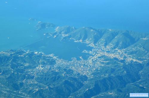 La Spezia, from above