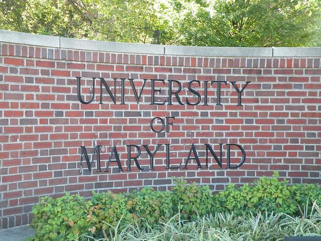 Header of University of Maryland, College Park