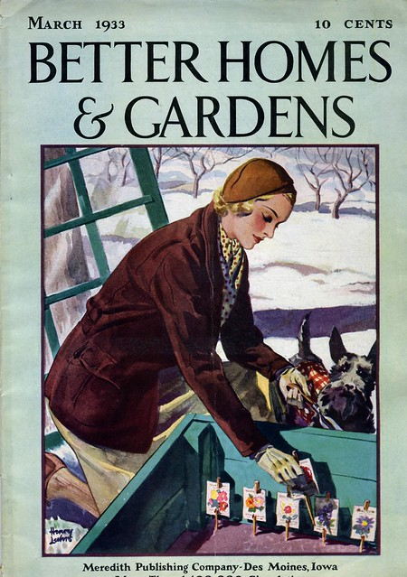 March 1933 Better Homes Gardens Magazine Cover Flickr