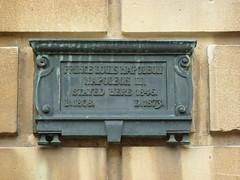 Photo of Louis-Napoléon Bonaparte bronze plaque