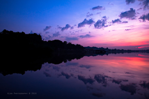 Colors of Twilight @ Lower Seletar Reservoir