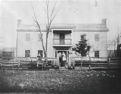 Nance Farm Built 1852 Photo taken 1883