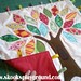 Tree Applique Taggie Blanket - backing detail