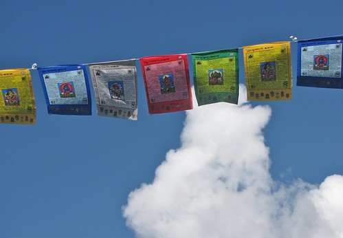 blue sky and prayers