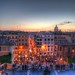 On the top of the Spanish Steps (or Scalinata della Trinità dei Monti) [HDR] by andré.luís