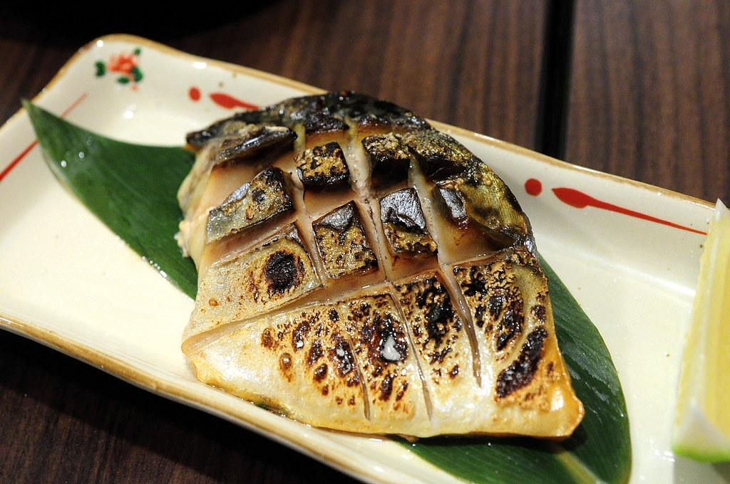 竹壽司-烤鯖魚