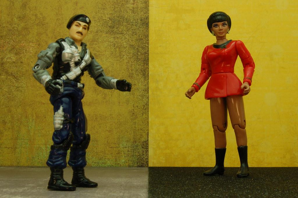 Dial Tone vs. Lieutenant Nyota Uhura (290/365)