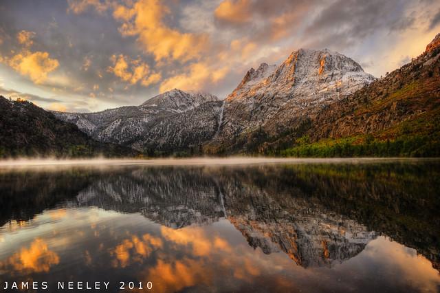 Golden Morning at Silver Lake