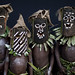 New ireland island kids with masks - Papua New Guinea