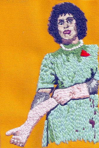 Tim Curry/Dr. Frank-N-Furter Embroidery