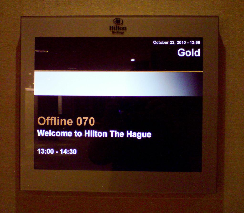 Hilton meets Offline070 ...