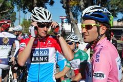 Frank Schleck & Ivan Basso