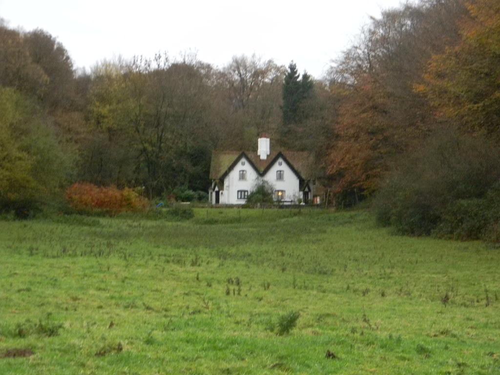 Creepy house in the woods Edenbridge Town to Westerham