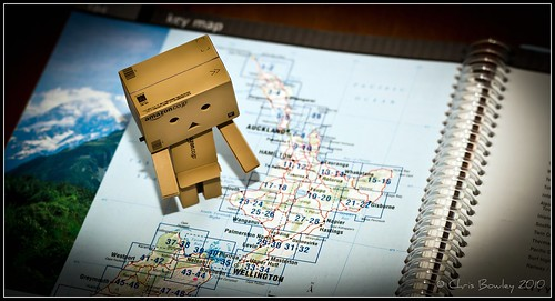 Danbo learns New Zealand