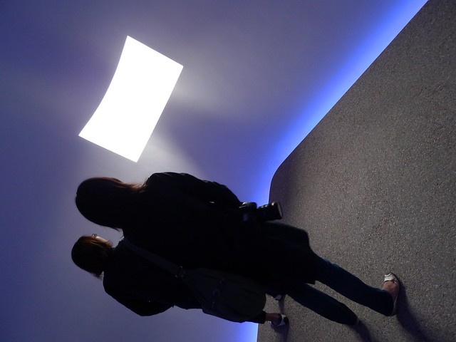 James Turrell's sky space at Sheats-Goldstein
