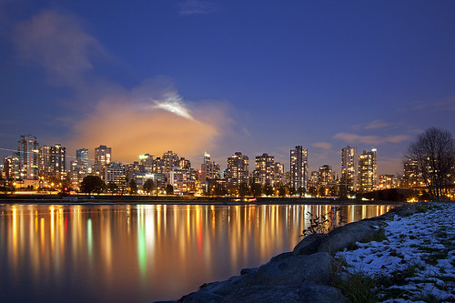 Vancouver In The Moonlight...