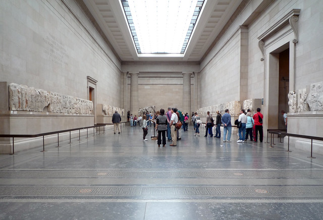 Duveen Room British Museum With Parthenon Frieze Flickr