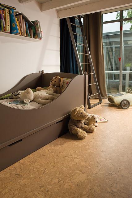 Cork flooring kid 39 s bedroom flickr photo sharing for Cork flooring in bedroom