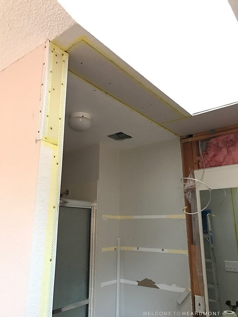 Drywall Taped Entrance | Welcome to Heardmont