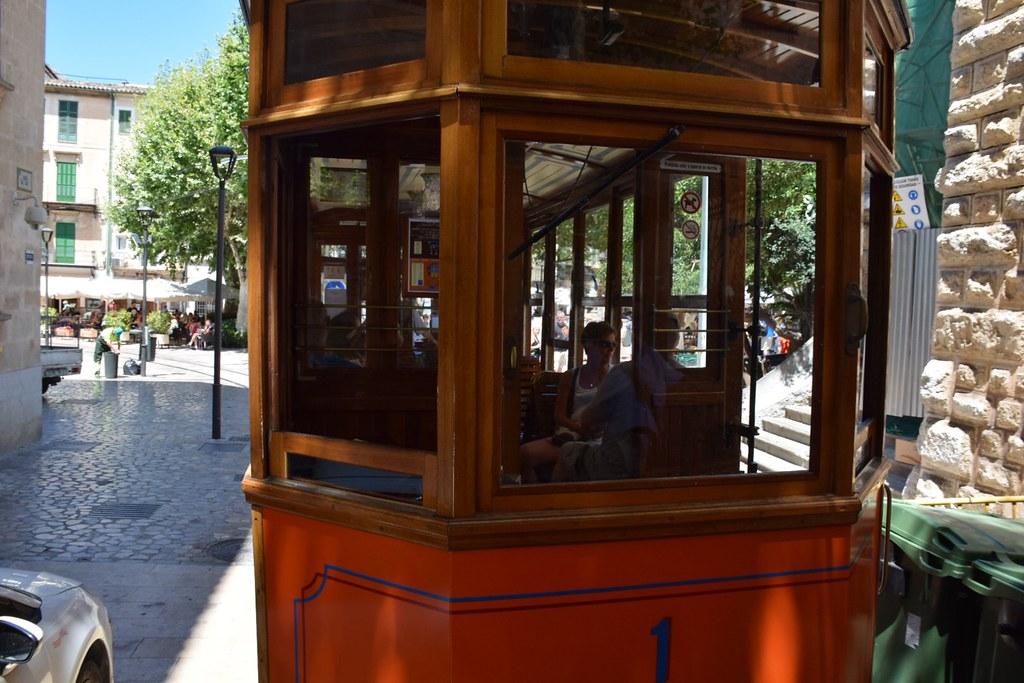 El tranvía era francamente bonito.