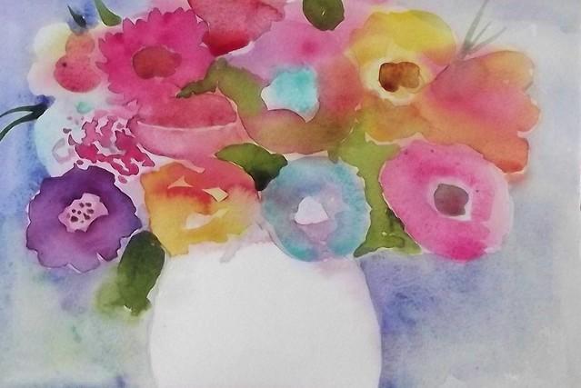 FLOWERS OF SUMMER, Fujifilm FinePix S2950