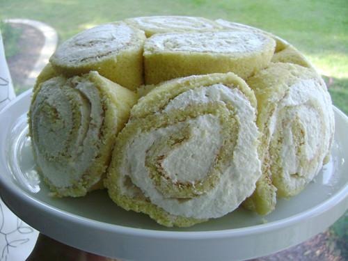 Daring Bakers July: Swiss swirl ice cream cake
