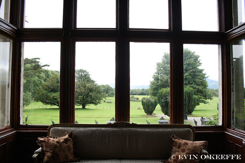 View from Cahernane House Parlor