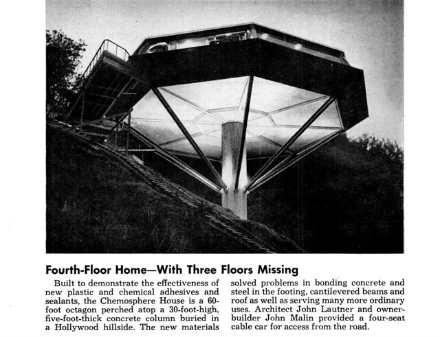 Malin Residence - Chemosphere - Los Angeles - Built: 1960