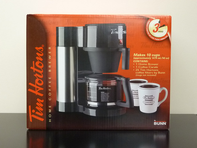 Coffee Maker Not Starting : Tim Hortons coffee maker Donated by Tim Hortons. Flickr - Photo Sharing!