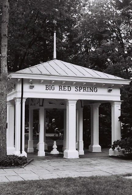 Big red spring saratoga you can get a free drink of sarat flickr photo sharing for Spring garden troy ny