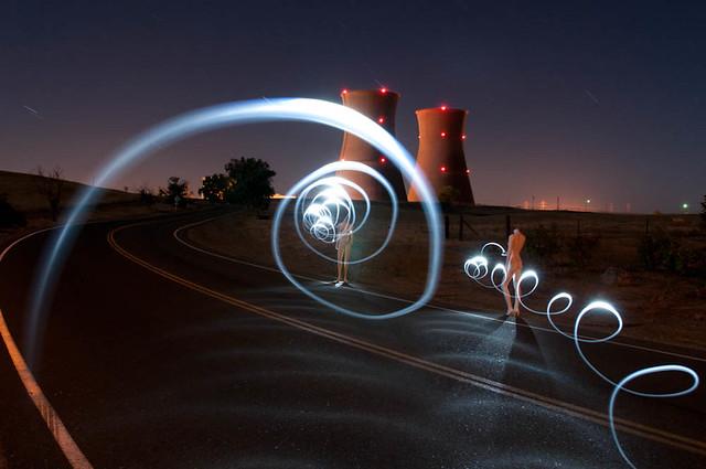 Nuclear Rocket Spirals