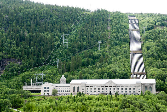 The Vemork hydroelectric plant