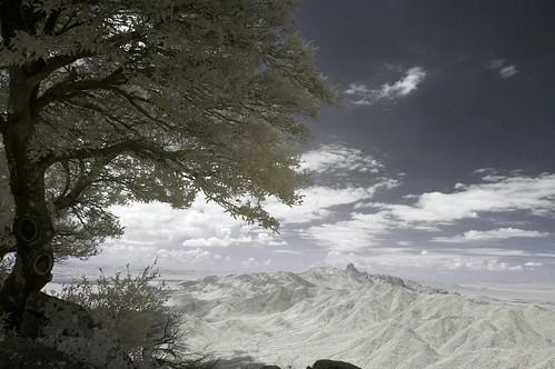 arizona sky cloud mountain tree ir infrared overlook canon1740f4l