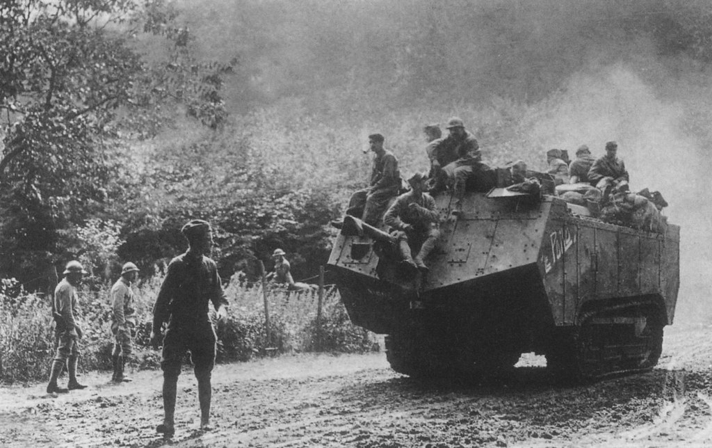WW1 by Numerius, via Flickr French tanks played a keyrole ...