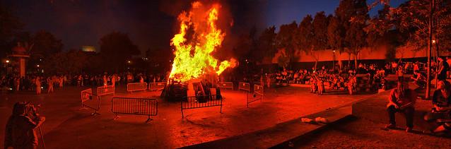 Foguera de Sant Joan / Hoguera de San Juan / St. John's bonfire
