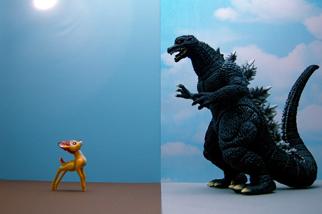 Bambi vs. Godzilla (211/365)