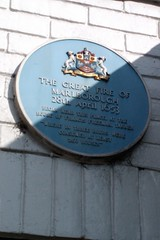 Photo of Thomas Hancock and Walter Hancock grey plaque
