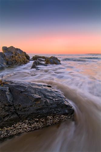 ocean sunset sky water coast maine atlantic coastal nik 20 ogunquit marginalway dfine viveza theunforgettablepictures