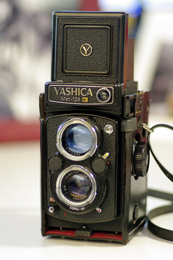 Consolation with Yashica Mat 124G for 120 films