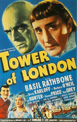 Tower Of London (Poster)