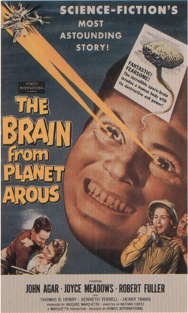 Brain From Planet Arous, The (Poster)