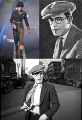 Harold Lloyd Vs John Galliano's SS 2011 Meswear