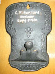 The metal holder from the Long Plains Store