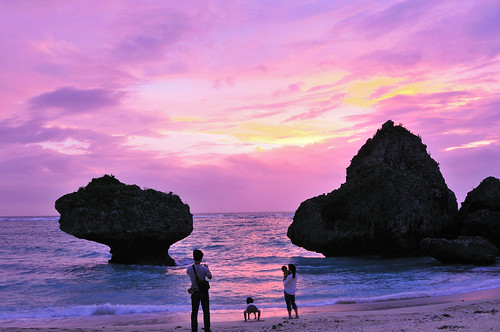 Sunset in Okinawa
