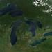 Great Lakes, No Clouds by NASA Goddard Photo and Video