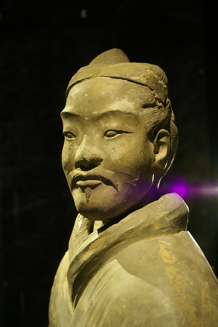 He and other warriors are now exhibited at the Museum of Far Eastern