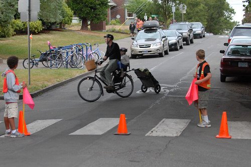 Beach Elem. School encourages biking and walking-2