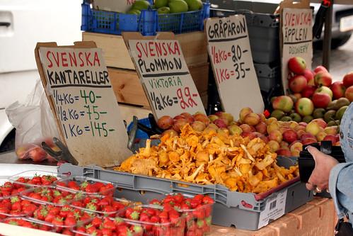 Kantareller market