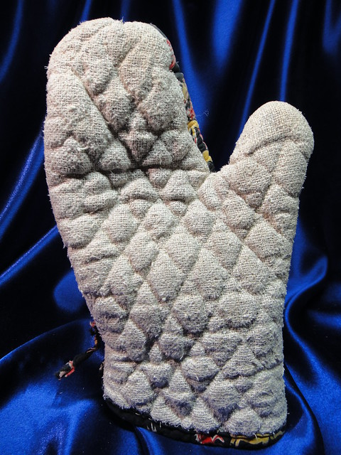 Quilted Asbestos Textile Cooking Mitt