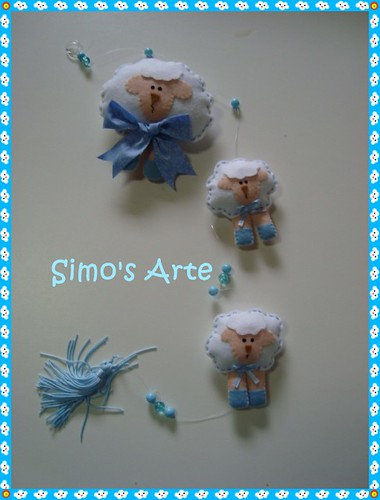 Mobile Ovelhas by Artes by Simo's®